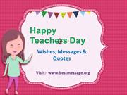 Teachers' Day Special Messages | Happy Teachers Day Wishes, Quotes