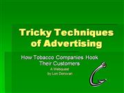 Tricky Techniques of Advertising