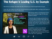 This Refugee is Leading U.S. by Example