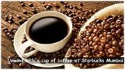 Unwind with a cup of coffee at Starbucks Mumbai