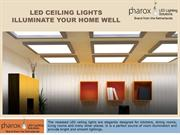 LED Ceiling Lights Illuminate Your Home Well