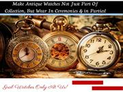 Antique Wrist Watches | Watches of Your Choice