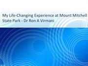 My Life-Changing Experience at Mount Mitchell State Park - Dr Ron Virm
