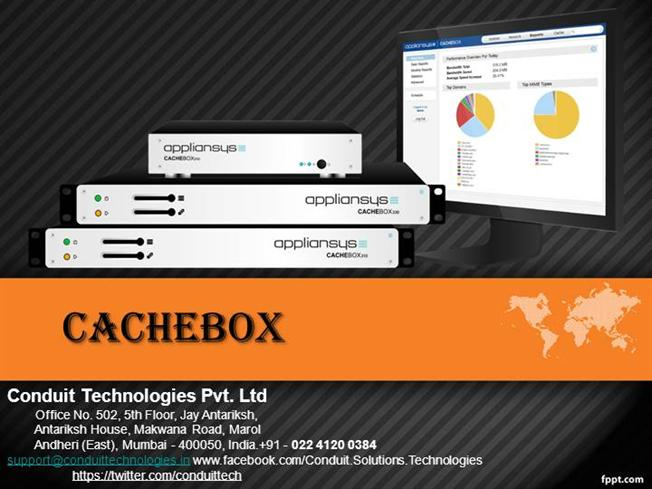 Cachebox | Appliansys Cachebox | Web Cache Server for ISP