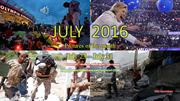 JULY 2016 - Pictures of the month -July 23 - July 31
