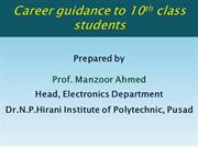 Career Guidance