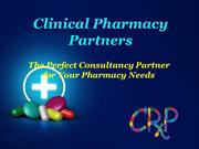 Clinical Pharmacy Partners - Perfect Pharmacy Performance Improvement