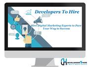 Hire Digital Marketing Experts to Pave Your Way to Success