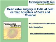 Heart valve surgery in India best care