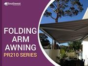 Folding Arm Awning PR 210 Series