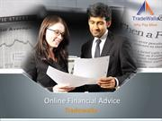 Online Financial Advice - Tradewalla