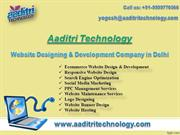 Aaditri Technology- A Web Designing Company in Delhi