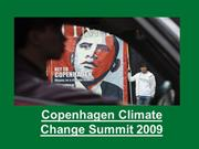 Copenhagen Climate Change Summit