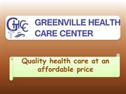 No need for appointment – Walk in to Greenville NC