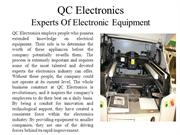 QC Electronics - Experts Of Electronic Equipment