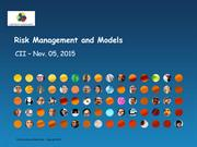 Risk Management Models - CII webinar