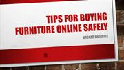 Wicker Paradise | Tips For Buying Furniture Online Safely