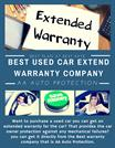 Used Auto Extended Warranty