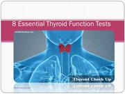 8 Essential Thyroid Function Tests