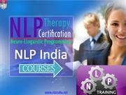NLP professional training, courses and therapy