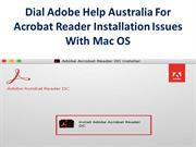 Dial Adobe Help Australia For Acrobat Reader Installation Issues With