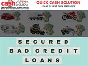 Bad Credit Loans - Simple Way to Get Fast Cash Loans