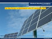 Distributed Solar PV Market heats up: Global Market Insights, Inc.