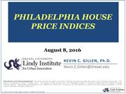 Philadelphia House Price Indices on the Rise - NRIA