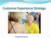 Customer Experience Strategy presentation