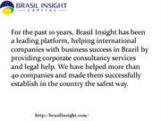 Business Success in Brazil