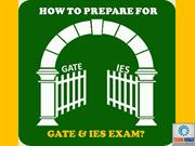 How To Prepare For GATE & IES 2017 Exam | Techno Herald