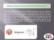 Why you need an Ecommerce Website Development
