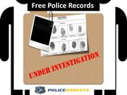 free police records