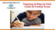 Tutoring At Boys & Girls Clubs of Central Texas