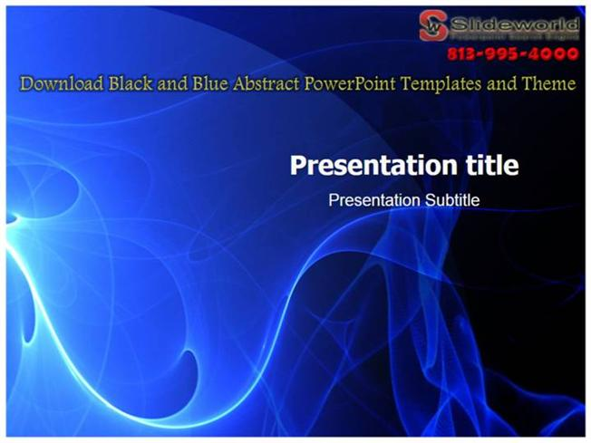 Download black and blue abstract powerpoint templates and theme download black and blue abstract powerpoint templates and theme authorstream toneelgroepblik Images