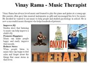 Vinay Rama - Music Therapist