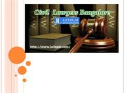 Civil Lawyers Bangalore | Civil Advocates Bangalore