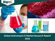 Global Actinomycin D Market Research Report 2016
