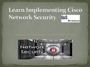Implementing Cisco Network Security | Cisco security training