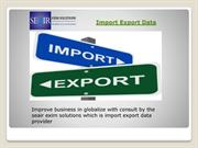 Best Import Export  Shipment Data Provider in India from Seair +