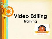 Video Editing Training in Hyderabad & Video Editing Training Classes