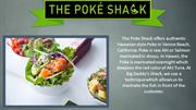 Veggie Kale Bowl ! The Poke Shack