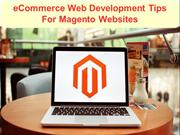 eCommerce Web Development Tips For Magento Websites