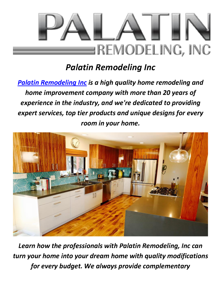 Home remodeling contractor in los angeles by palatin for Home renovation los angeles