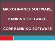Microfinance, Banking, Online Core Bank, Core Banking, Private Banking