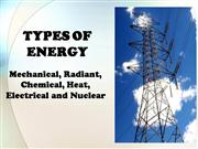 Types of Energy 09