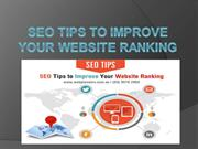 SEO Tips To Improve Your Website Ranking - Market Strategy