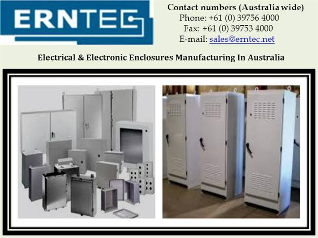 Electrical & Electronic Enclosures Manufacturing in Australia