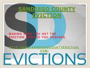 SANDIEGO COUNTY EVICTION