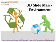 Man Environment PowerPoint Template PowerPoint Templates and Backgroun